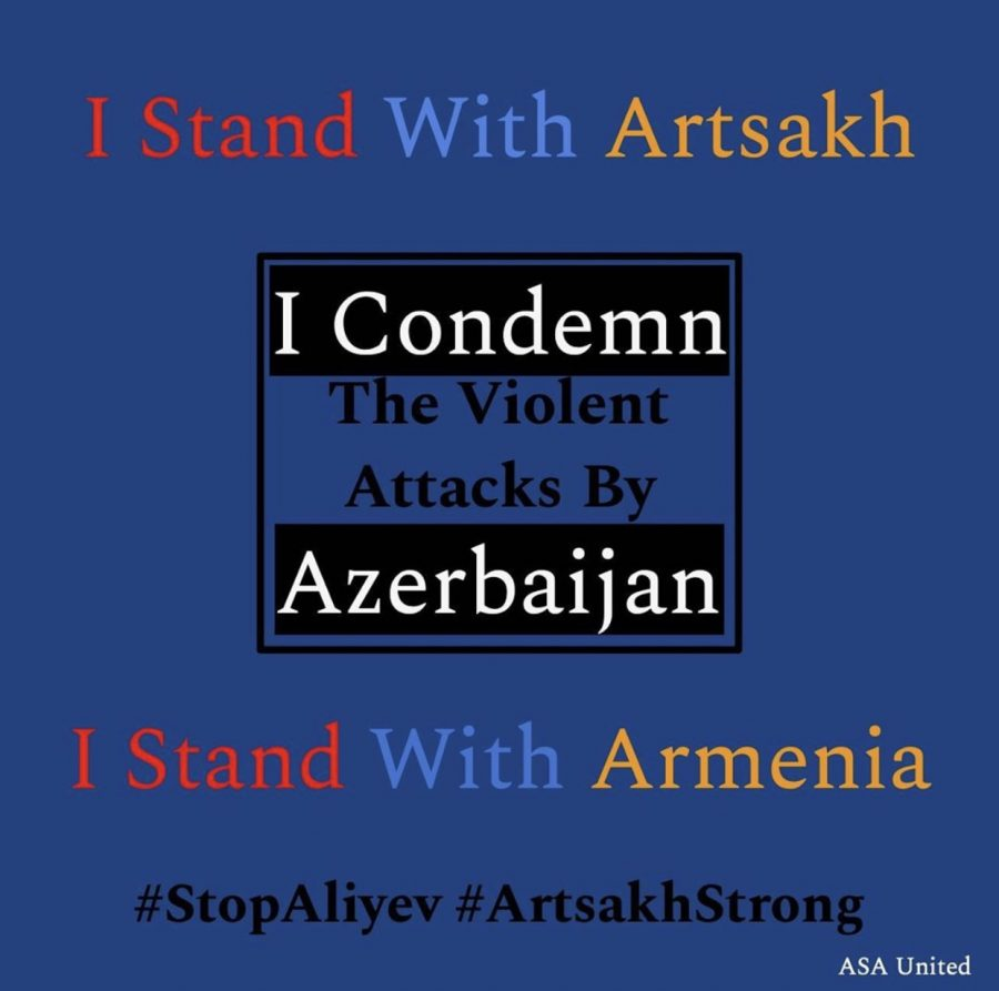 Students+Rally+Behind+Armenian+Students%E2%80%99+Association+In+Condemning+Azerbaijan+Attack+Against+Artsakh