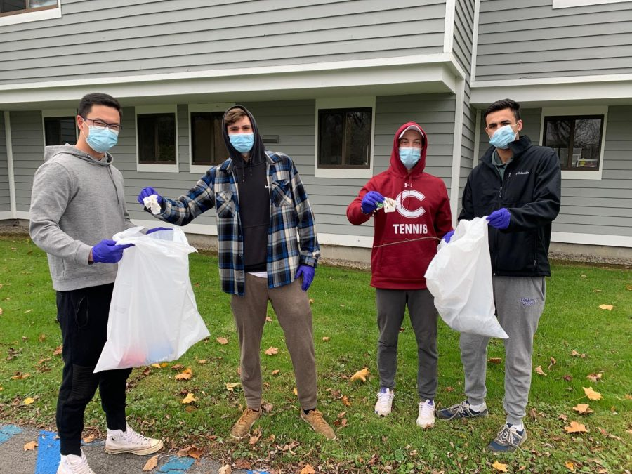Students Take Part In Campus-Wide Cleanup