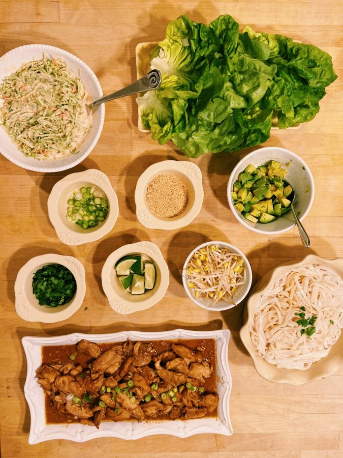 The 'Gate Plate Presents: Thai Chicken Lettuce Wraps