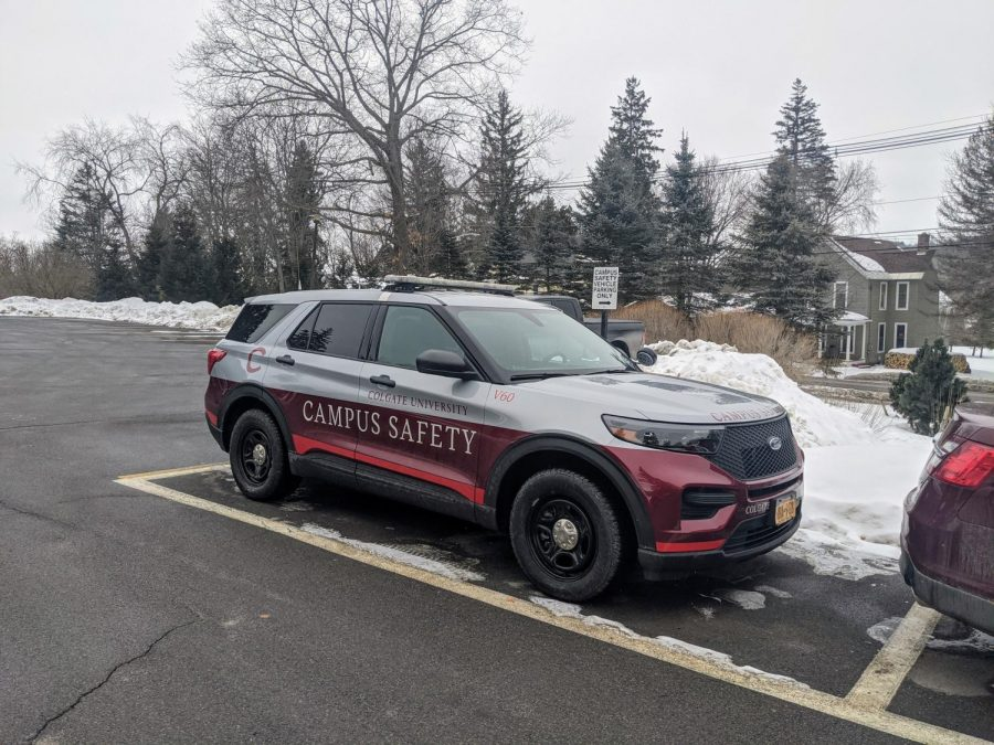 Students Criticize Colgate's Personal Vehicle Policies