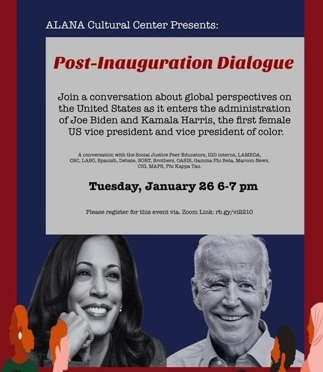 ALANA Cultural Center Hosts Post Inauguration Dialogue