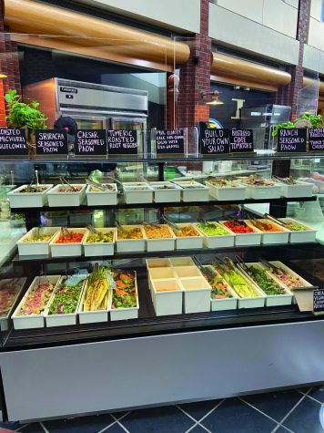 Frank Dining Hall Holds New Plant-Based Food Event