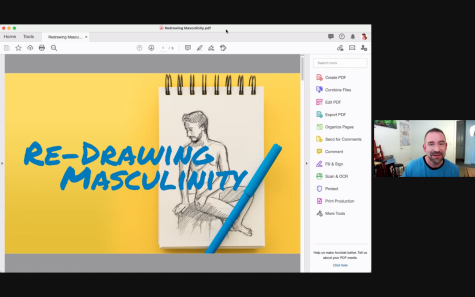 Colgate Arts Council Presents Virtual Redrawing Masculinity Workshop
