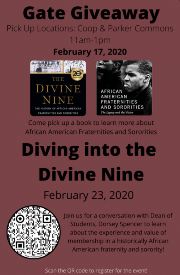 Colgate Hosts Dialogue with Dean Spencer on Divine Nine Fraternities and Sororities
