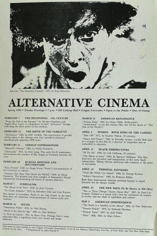 Alternative Cinema's Long Residency at Colgate