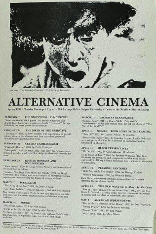 Alternative Cinema's Long Residency at Colgate