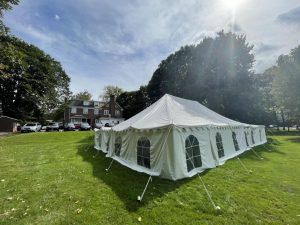 Tents Appear in Fraternity and Sorority Yards as Social Hosting Guidelines Change