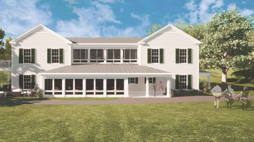 CLUBHOUSE CORRECTION: Plans for the new Seven Oaks Golf Club include changes to the course as well as a revamped clubhouse, restaurant and pro shop.