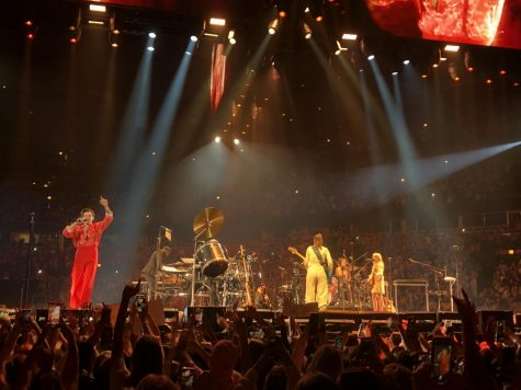 A NIGHT TO REMEMBER: Harry Styles performed at the United Center in Chicago on Sept. 24 and 25, an event marked by the uncertainty surrounding live events in the midst of the COVID-19 pandemic.