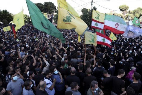 CIVIL UNREST: Protests have sprang up across Lebanon, including this clash that took place in Southern Beirut on Oct. 15.