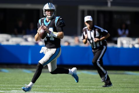 DARNOLD DEALING: Carolina Panthers QB Sam Darnold is enjoying a career resurgence down South, and looks to continue that hot start in New York.