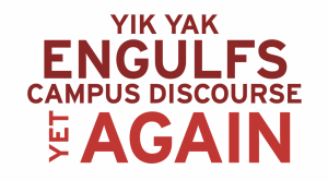 Campus Responds to Yik Yak Controversy
